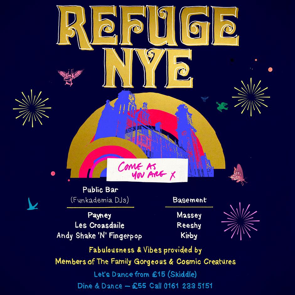 Refuge NYE 2019